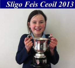 Caitlin Wins Sligo Award